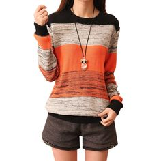 NOTE:New promotion! Please remember our shop ,Miracles sometimes occur!!! If you have any questions, please contact us! we will reply within 24 hours. 1.Features: 100% Brand New & High Quality Material: cotton Note:Sweater is loose style,fashion and comfortable .welcome dropshipping,it is always instock.will not attach any information in the parcel . 2.Size:(cm) length bust sleeve ...