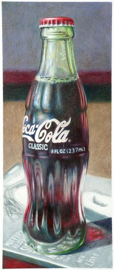 Coke Bottle by Heath Poole, via Behance