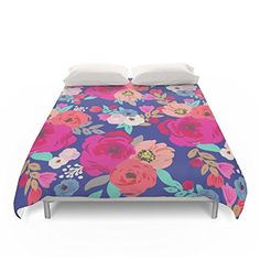 Society6 Sweet Pea Fl Blue Bright Color Duvet Covers Https