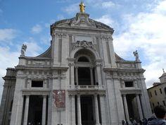Basilica of Santa Maria degli Angeli - Assisi, #Italy