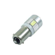 1 PCS white car bulbs BA9S Led reading light T4W automotive Interior Lamp sourse 6smd 5630 DC 12V <3 Click the image for detailed description