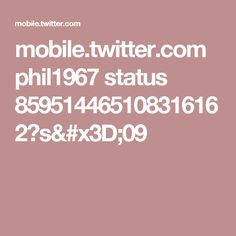 mobile.twitter.com phil1967 status 859514465108316162?s=09
