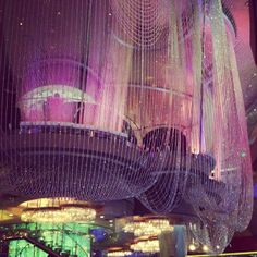 Chandelier bar at cosmopolitan hotel las vegas pinterest chandelier bar las vegas learn all about my first hacked travel trip to las vegas and how i saved 102388 aloadofball Gallery