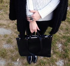 Into the woods Sweater Hat, Woods, Backpacks, Sunglasses, Bag, Heels, Rings, Leather, Outfits
