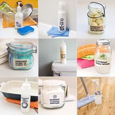 Make These 20 DIY Natural Cleaning Products For Pennies