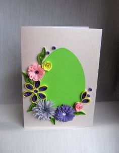 quilling easter | Quilling M handmade crafts and hobbies: Quilling Easter Cards (2 ...