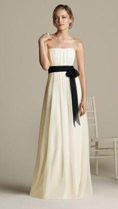like style, but no bridesmaid should wear white