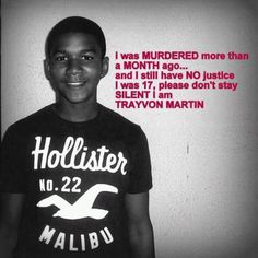stand up for trayvon.