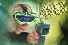 Интерактивная игра Alien Vision, Fotorama