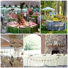 """A DIY wedding reception is a sweet way to personalize the celebration (and save money)! Click through for """"Wedding Reception Decorating 101."""" #DIY #wedding #reception"""