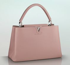 LOUIS VUITTON:  Capucines.  MY LOVE.