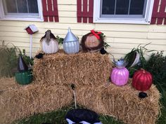 My 2014 Wizard of Oz pumpkins - Michelle