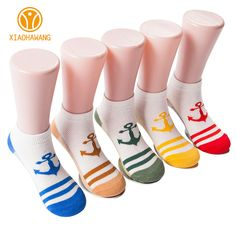 5 Pairs/Lot Print Kids Socks Thin Cotton Socks For Girls Spring Summer Baby Boys Sock Breathable 5Colors Children Clothing 1-10Y