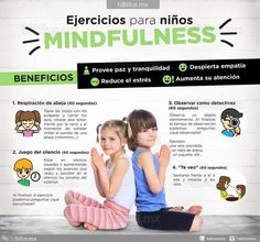 EJERCICIOS DE MINDFULNESS PARA NIÑOS Educational Activities For Kids, Art Therapy Activities, Teaching Techniques, Teaching Tips, Spanish Lessons, Learning Spanish, Parenting Advice, Kids And Parenting, Classroom Charts