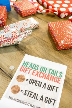 5 Christmas Games For Gift Exchange That Are EASY And FUN!