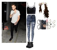"""""""club in LA with Liam!!!!!!!!!"""" by directioner-dxi ❤ liked on Polyvore featuring art"""