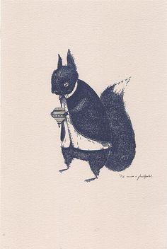 Mr. Squirrel.