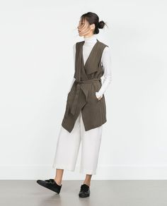 LONG WAISTCOAT-View all-Outerwear-WOMAN | ZARA United States