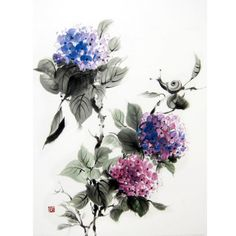 Hey, I found this really awesome Etsy listing at https://www.etsy.com/il-en/listing/246409161/japanese-ink-painting-suibokuga-sumi-e