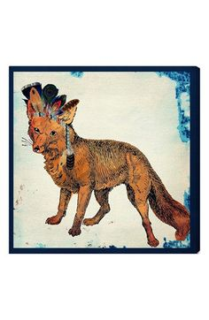 Oliver Gal 'Wild Fox' Wall Art available at #Nordstrom