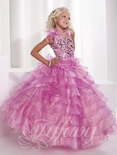 Let your little girl feel like a princess in a stunning pageant gown by Tiffany Princess pageant dresses. These luxurious dresses are craft. Toddler Pageant Dresses, Beauty Pageant Dresses, Pagent Dresses, Little Girl Pageant Dresses, Quinceanera Dresses, Ball Dresses, Ball Gowns, Girls Dresses, Flower Girl Dresses
