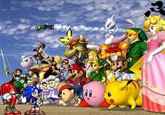 Nintendo will be revealing Super Smash Bros. Wii U gameplay for the first time during Super Smash Bros. has always been one of Nintendo's aces in the hole. On the Nintendo it gave . Super Smash Bros Melee, Super Smash Flash, Super Mario, Mario Bros., Mario Smash, Pikachu, Pokemon, Mario Brothers, Wii U