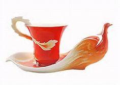 Franz Porcelain Cup and Saucer - Bing images