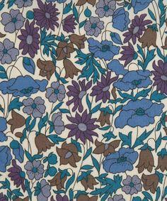 Liberty Art Fabrics Poppy and Daisy K Tana Lawn