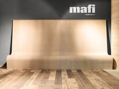 Perfectly bendable on request. Natural Wood Flooring, Natural Structures, Curved Walls, Wood Surface, Real Wood, Mafia, Plank, Contemporary Design, Woods