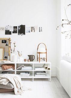How to Style Your Space Like a Swede via @MyDomaine