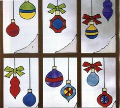 Gallery Glass Class: Christmas Clings make a SCENE!