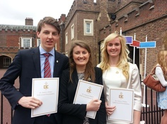 Well done to the pupils who attained their DofE Gold Award in May 2013!