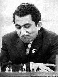 Tigran Petrosian, World Chess Champion Armenian Culture, Chess Players, Chess Pieces, Psych, Bobby, Cool Kids, Champion, Celebrities, 1984