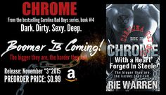 NEW RELEASE & $25 GIVEAWAY: Carolina Bad Boys Box Set by Rie Warren - 99¢ Sale! - iScream Books