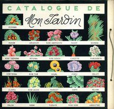 catalogue de mon jardin. père castor.