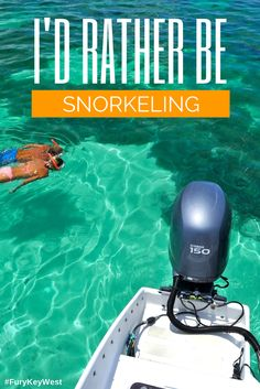 Snorkel in Key West with Fury Water Adventures #keywest #snorkeling #furykeywest