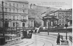 Ilyen is volt Budapest - évek eleje, Lánchíd tér (Clark Ádám tér) Hungary, Budapest, Vintage Photos, Bali, Louvre, Building, Travel, Viajes, Buildings