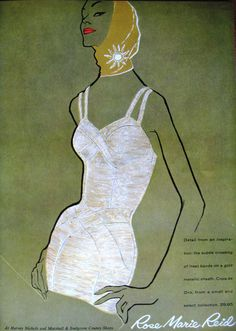 Vogue Swimwear 1950's - @Mlle