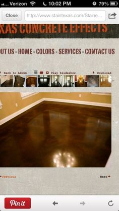 Stained concrete floors by cositinga