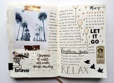 Imagen de journal, aesthetic, and art