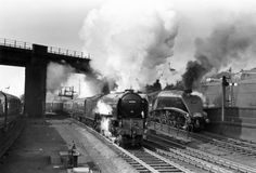 1950s Steam Train Scotland | Aberdonian, steam locomotive, Kings Cross ...