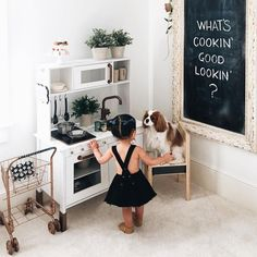 That gold shopping cart! Girl Room, Girls Bedroom, Creation Deco, Kid Spaces, Play Houses, Future Baby, Baby Love, Kids Playing, Cute Kids