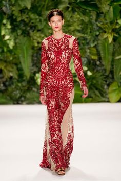 New York Fashion Week Spring 2014 RTW: Naeem Khan