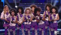 8 Flavahz party rockin'! Most definitely one of, if not, my favorite outfits.