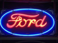 Early original Ford Neon Sign