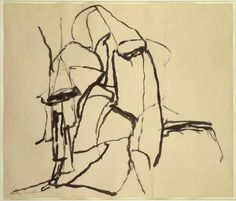 'Celebration', 1961 by Philip Guston (1913-1980, Canada)