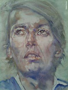 Fabrizio visto da Erberto Durio, olio su tela, 2015/16 Portrait Art, Portraits, Poet, Musica, Head Shots, Portrait Photography, Portrait Paintings, Headshot Photography, Portrait