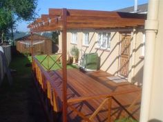 Wooden Decking, Pergolas, Balustrades, Stairs, Walkways, Jacuzzi Cladding, Screens and Bridges Durban and Cape Town