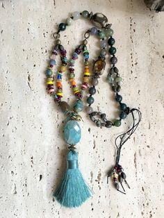 Sea Green Gemstone Necklace