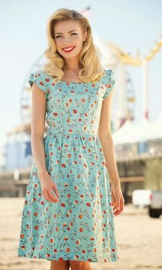 Modest Clothing for Women: Cute Modest Retro Dresses